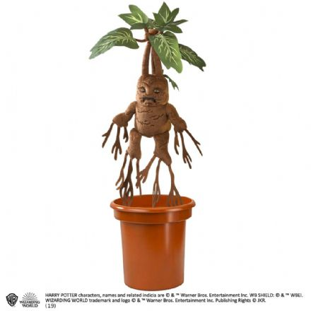 The Noble Collection Harry Potter Interactive Potted Mandrake Plush